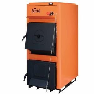 Cazan combustibil solid FERROLI FSB PRO N 30, 30 kW