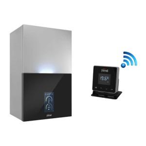 Centrala termica in condensare FERROLI BlueHelix MAXIMA 28 C, 24 kW, clasa A+, termostat Wi-Fi